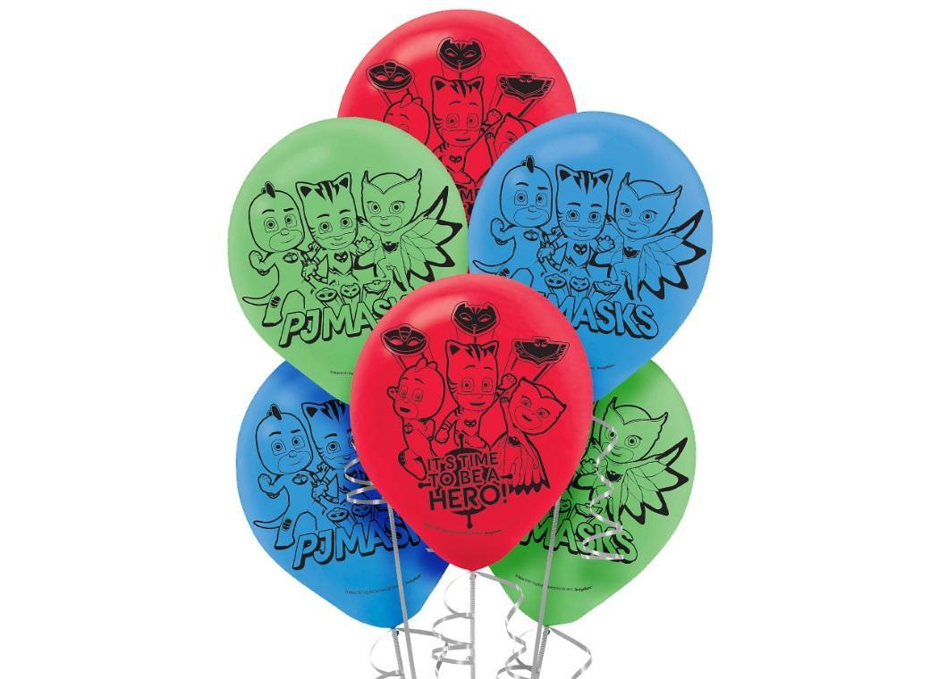 PJ Masks Balloons 6pk