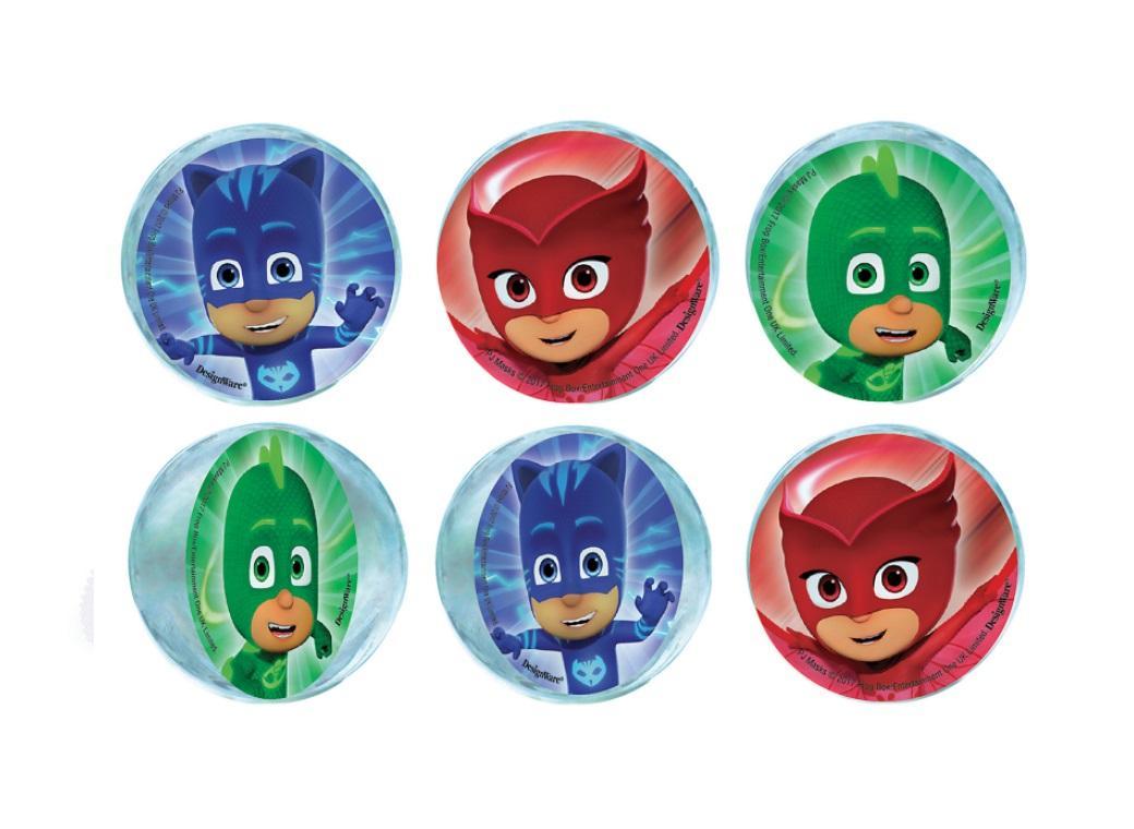 PJ Masks Bounce Balls 6pk