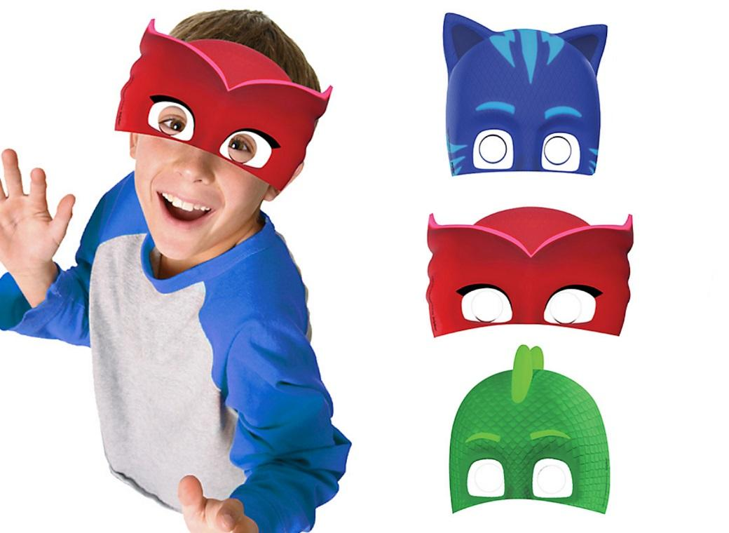 PJ Masks Party Masks 8pk