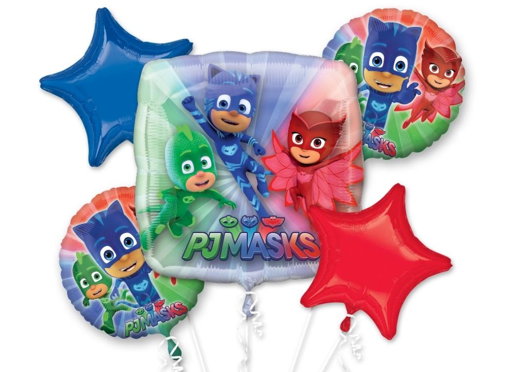 PJ Masks Foil Balloon Bouquet