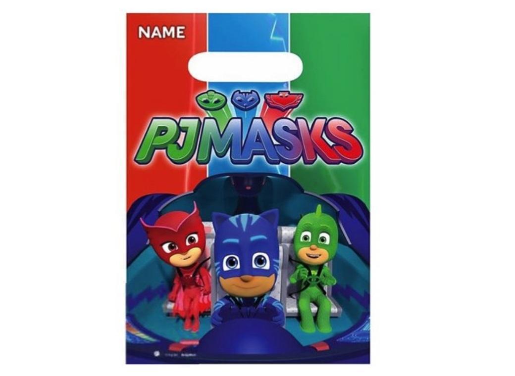 PJ Masks Loot Bags 8pk