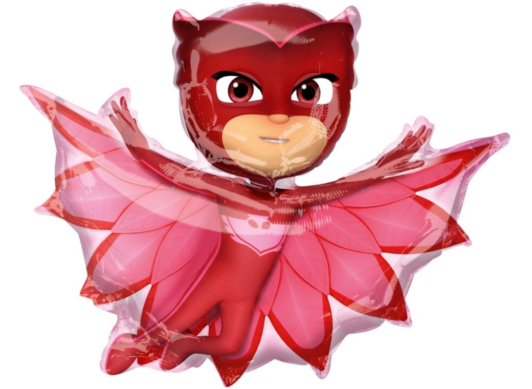 PJ Masks Owlette SuperShape Foil Balloon