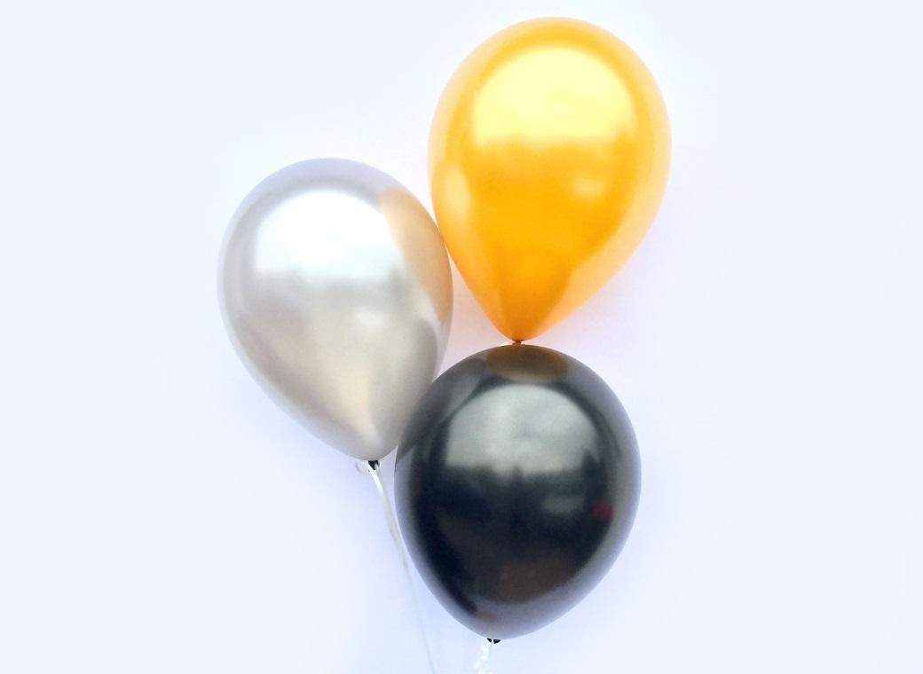 Plain Balloon Mix - Hollywood 12pk