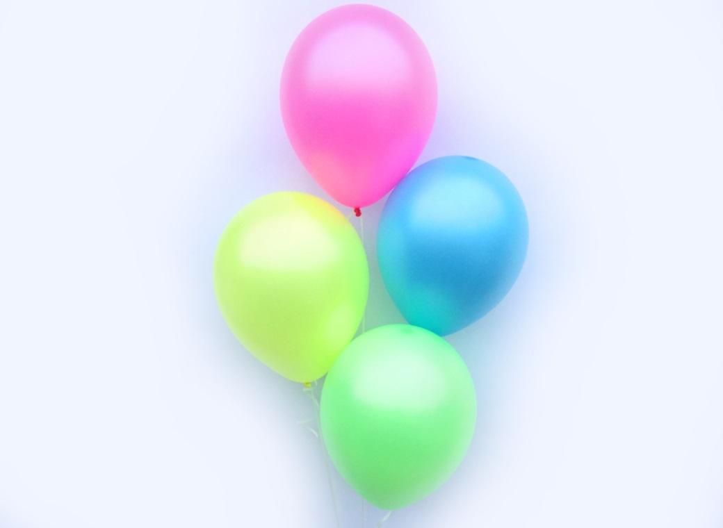 Plain Balloon Mix - Lollipop