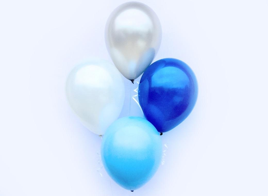Plain Balloon Mix - Prince 12pk