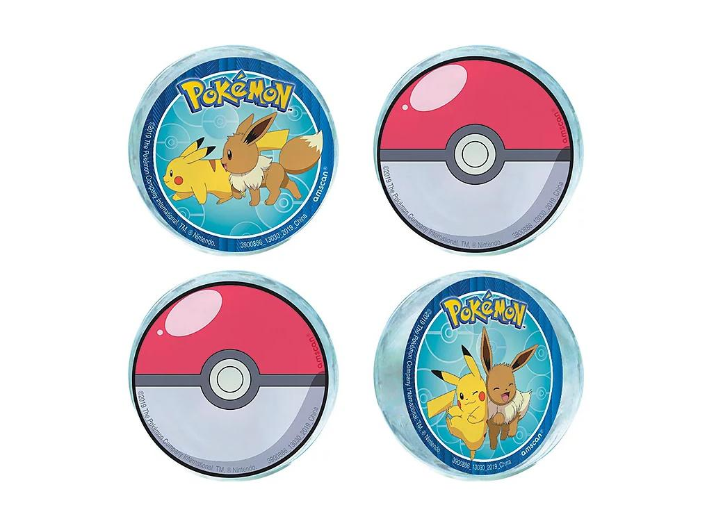 Pokemon Bounce Balls 4pk