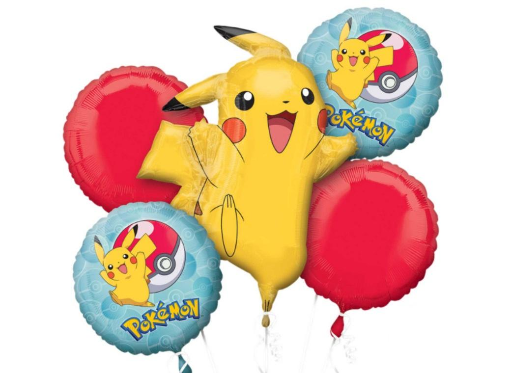 Pokemon Foil Balloon Bouquet