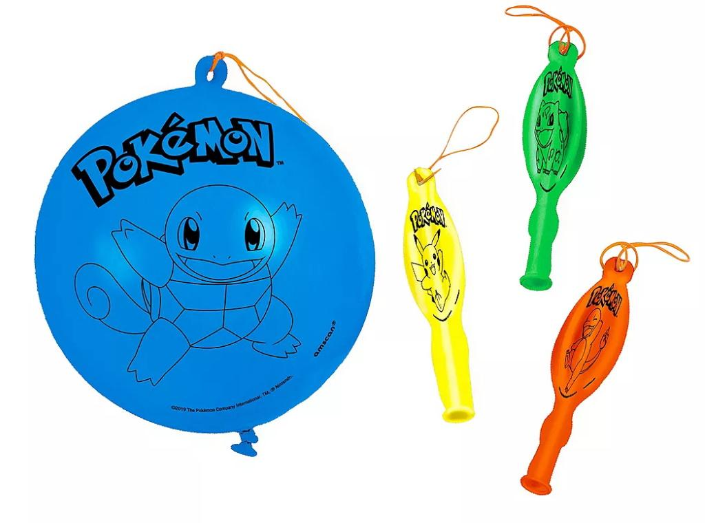 Pokemon Punch Balloons 4pk