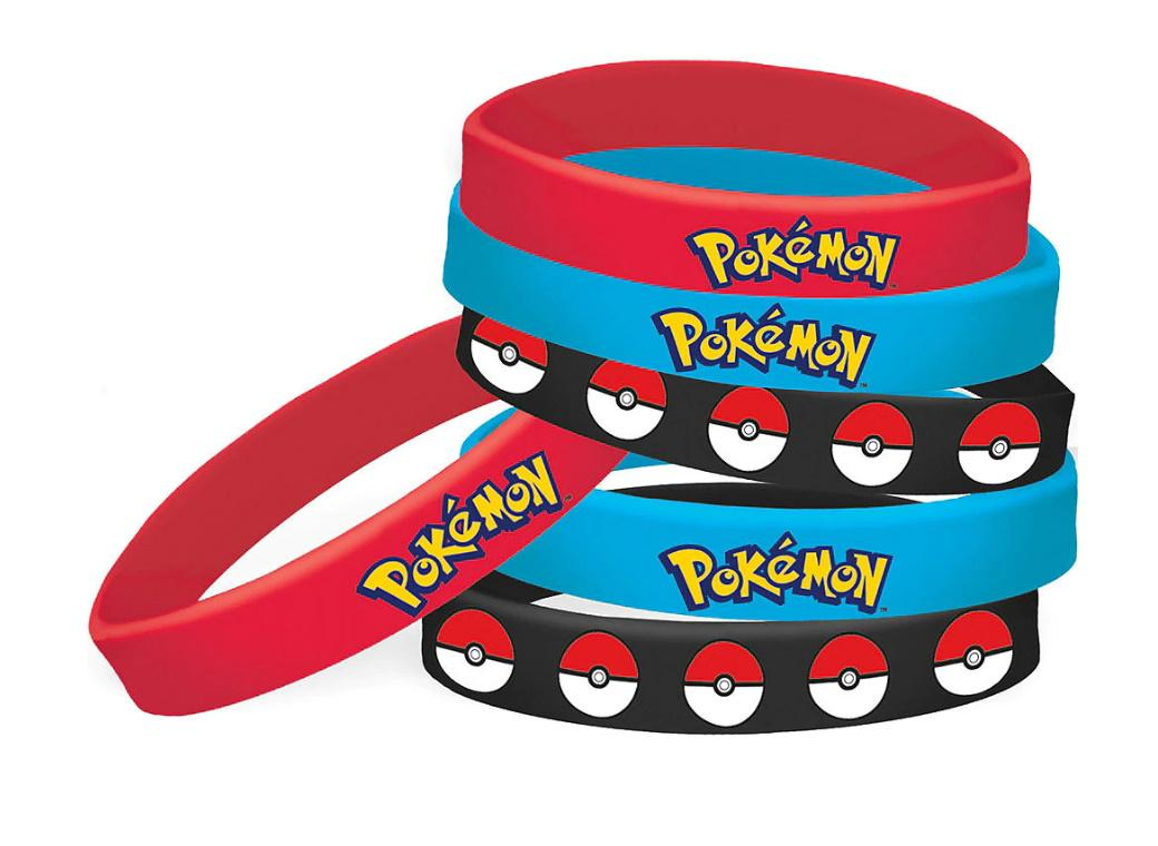 Pokemon Wristbands 6pk