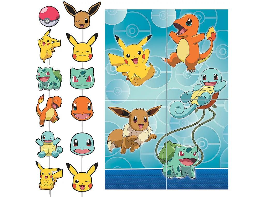Pokemon Scene Setter & Photo Props