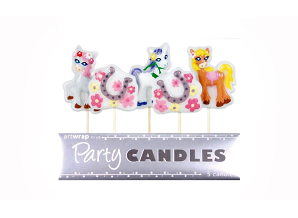 Party Candles - Pretty Ponies