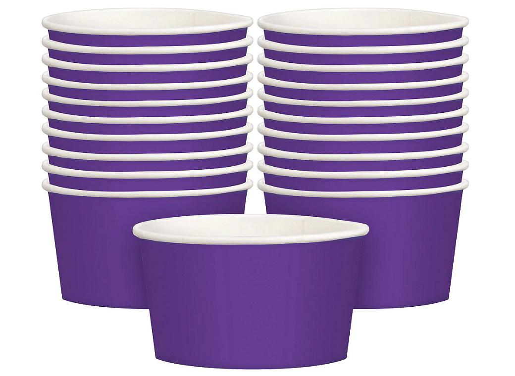 Treat Cups 20pk - Purple