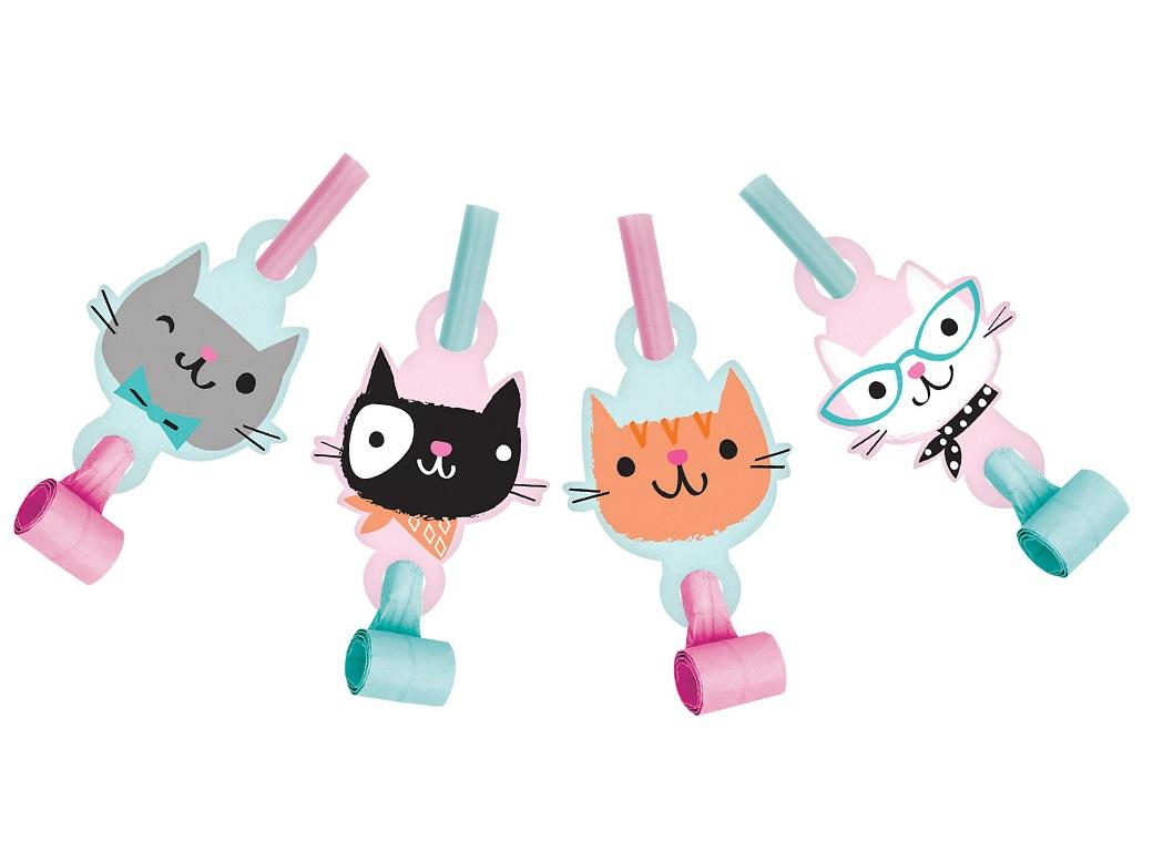 Purr-fect Party Blowouts 8pk