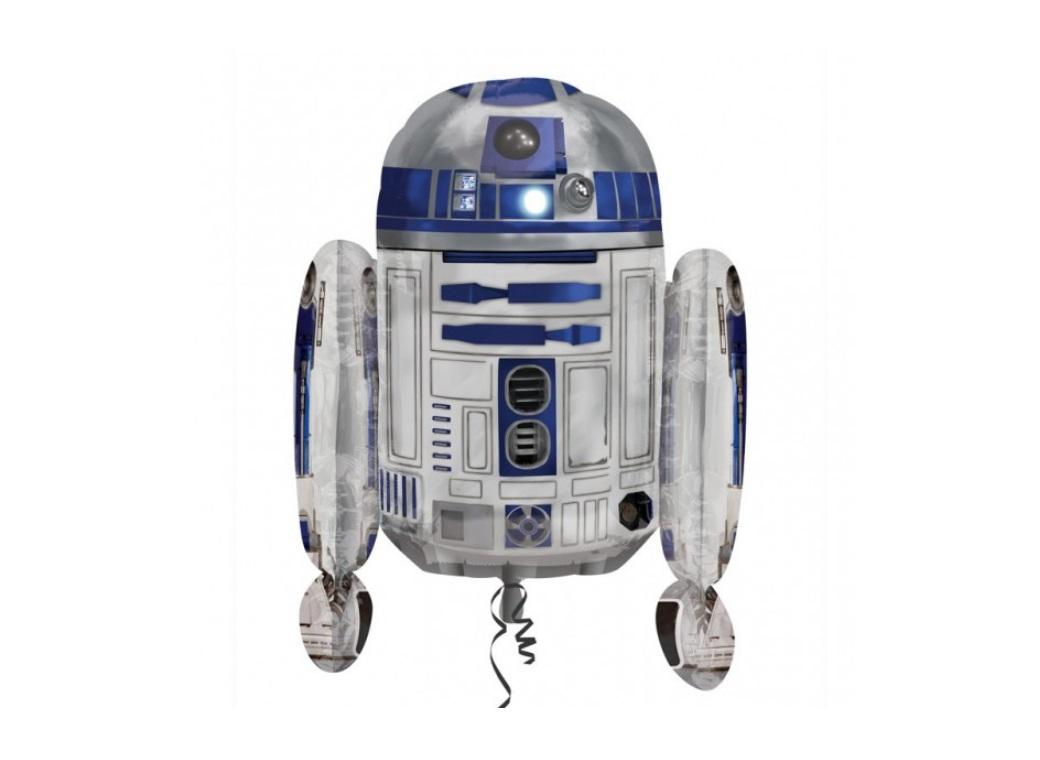 R2D2 Supershape Foil Balloon