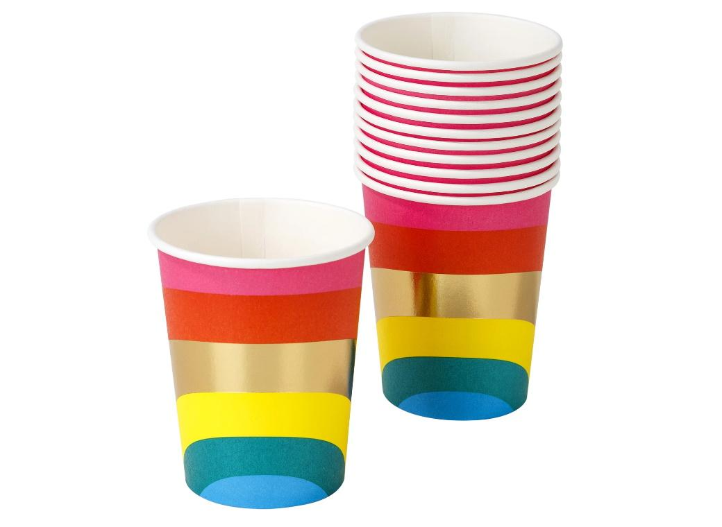 Rainbow Brights Cups 12pk