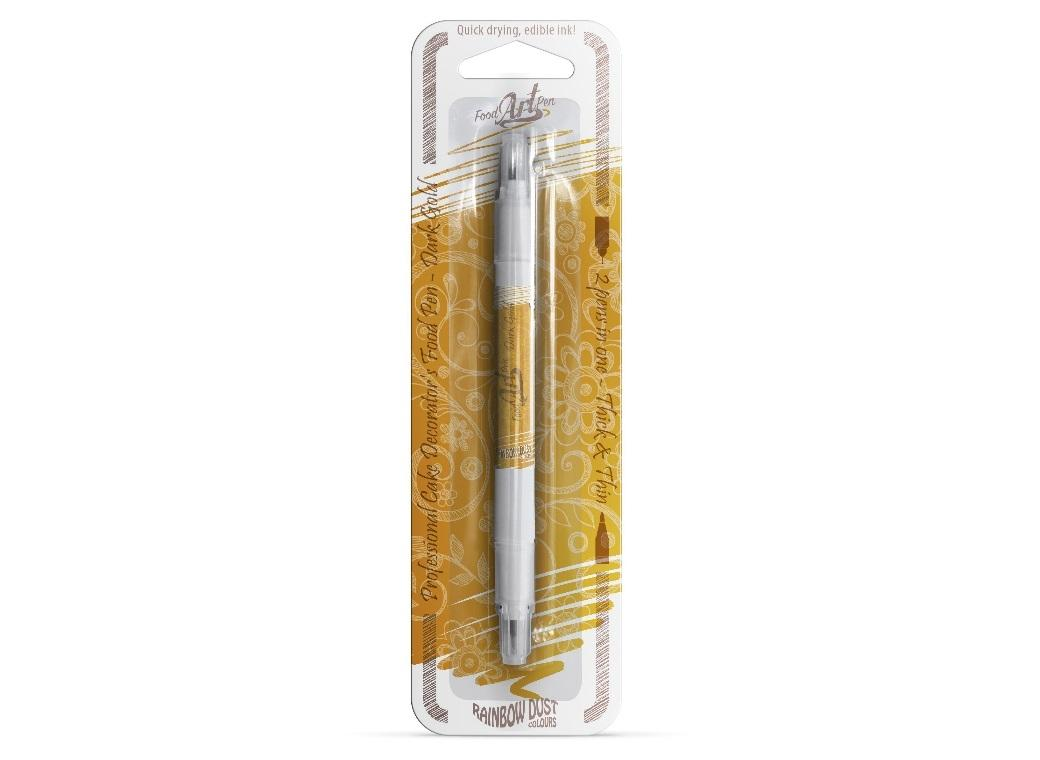 Rainbow Dust Edible Marker Pen - Dark Gold