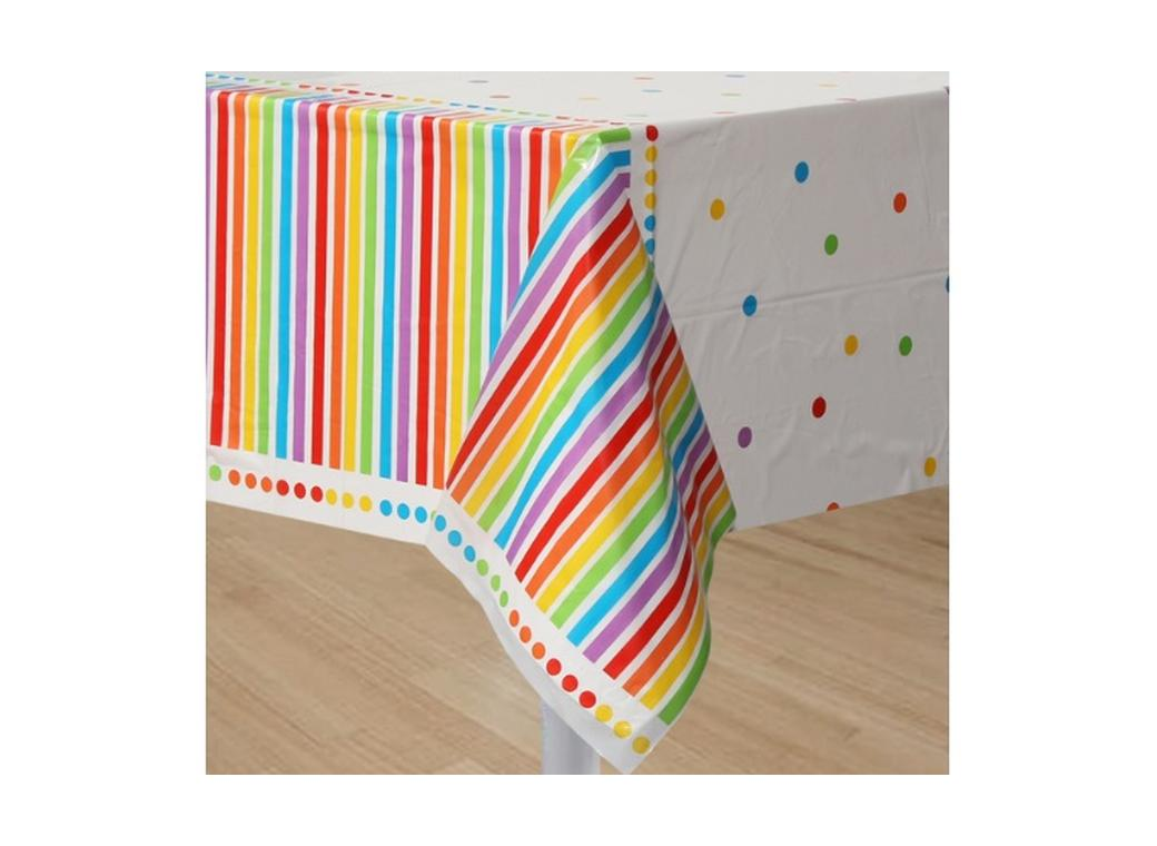 Rainbow Birthday Tablecover