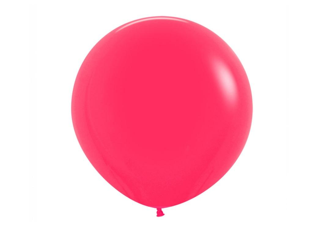 60cm Balloon - Raspberry