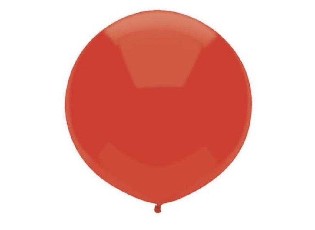 43cm Balloon - Real Red