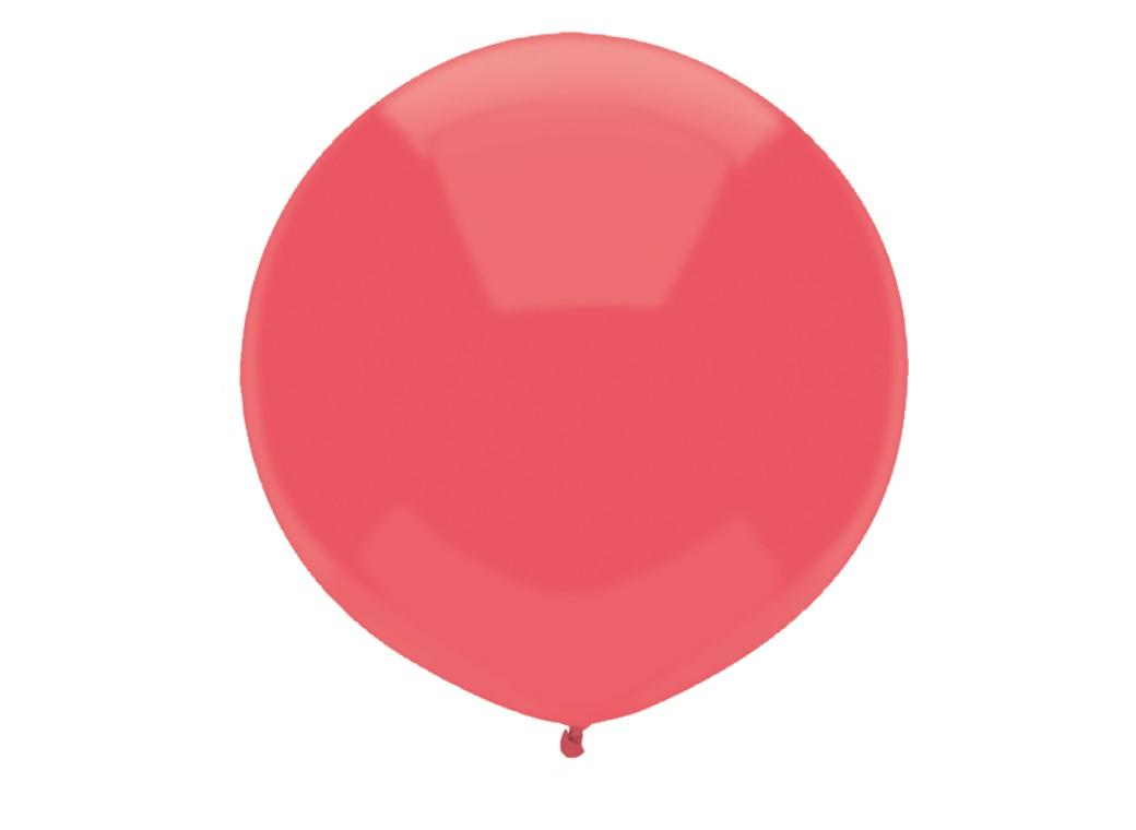 43cm Balloon - Watermelon Red