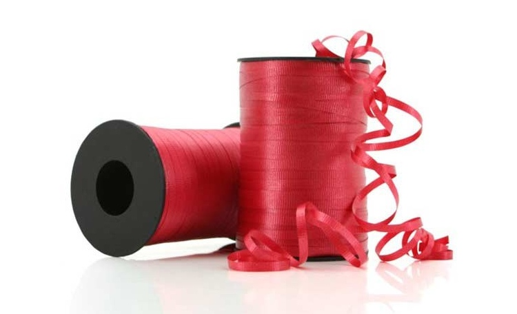 Curling Ribbon - Red 91m
