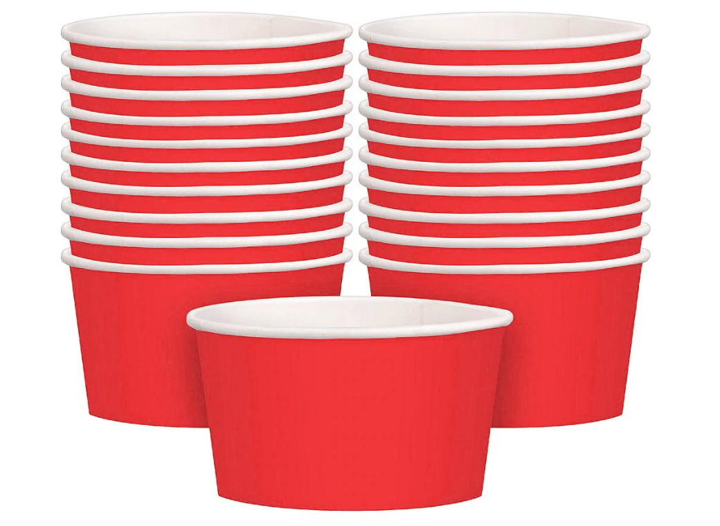 Treat Cups 20pk - Red