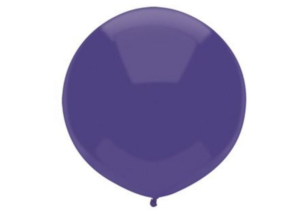 43cm Balloon - Regal Purple