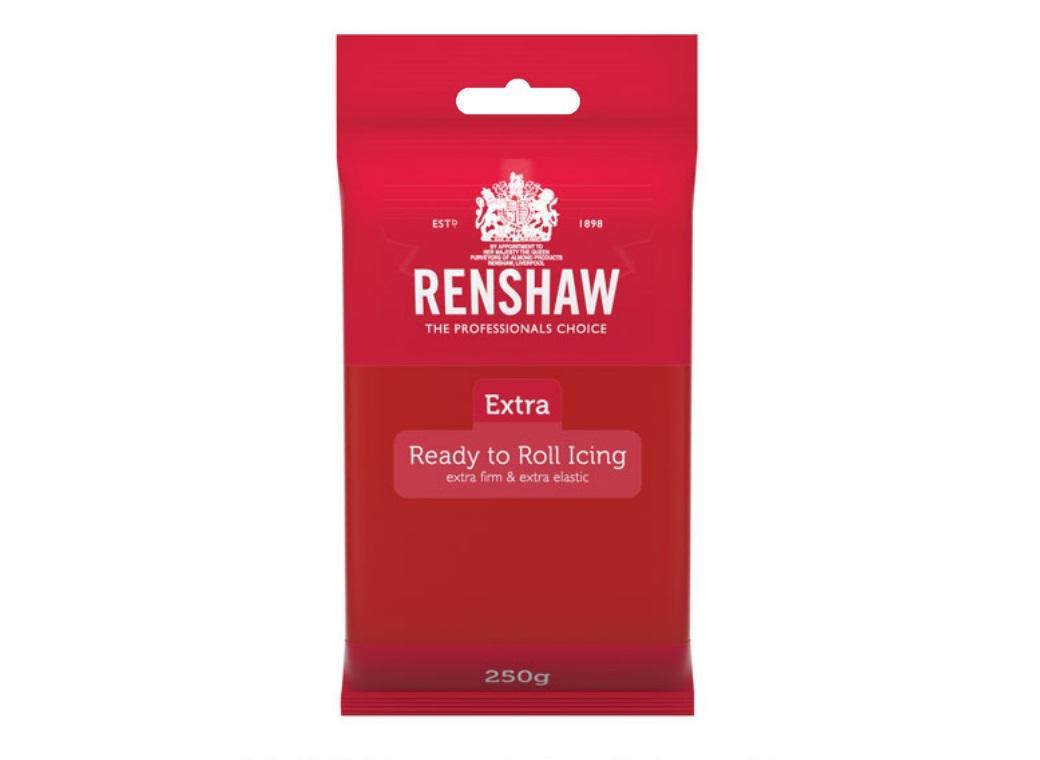 Renshaw Extra Fondant Icing - Red