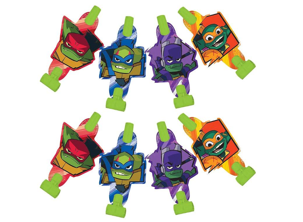 Rise of the TMNT Blowouts 8pk