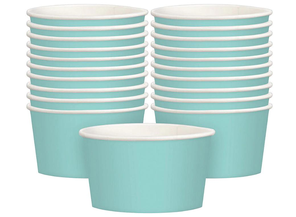 Treat Cups 20pk - Robins Egg Blue