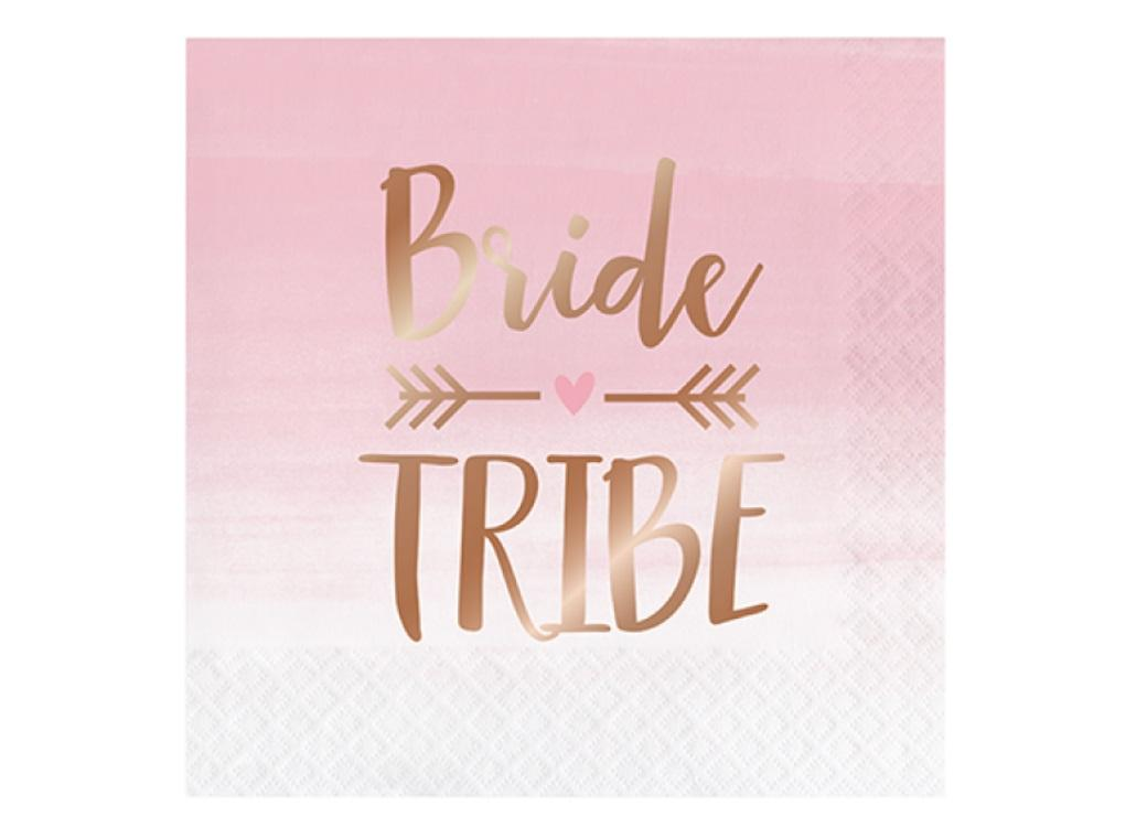 Rosé All Day Bride Tribe Lunch Napkins 16pk