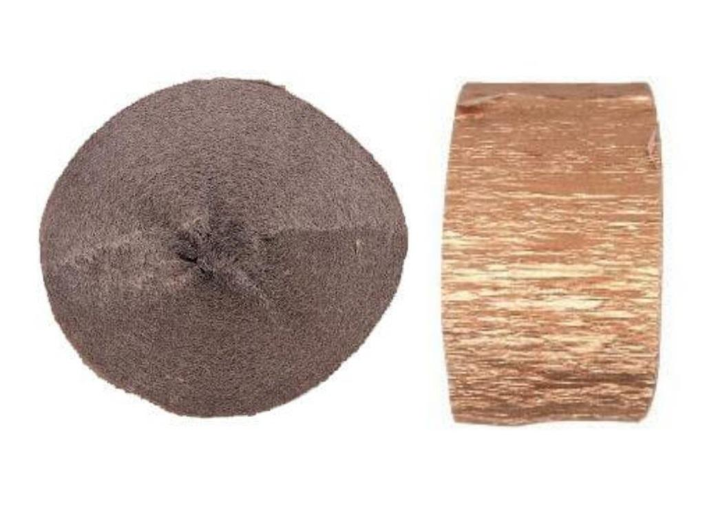 Crepe Paper Streamer - Rose Gold