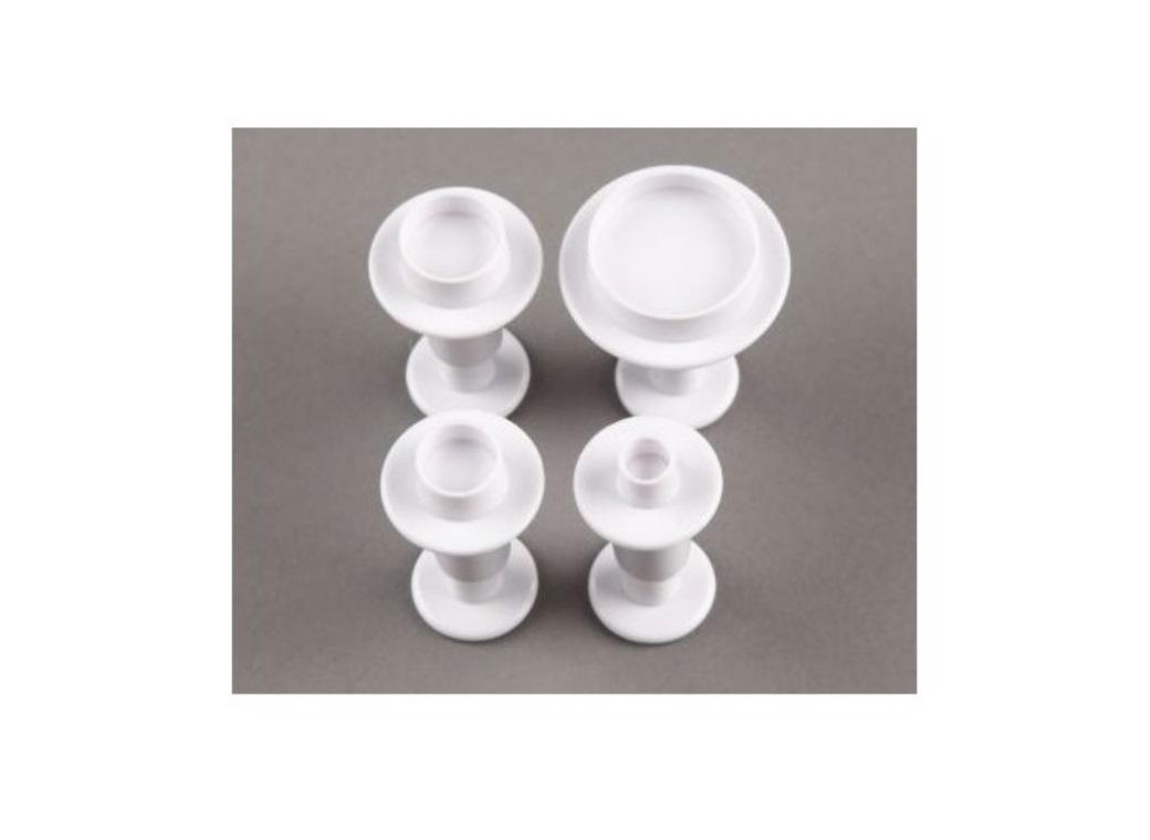 Round Plunger Cutters - Set of 4