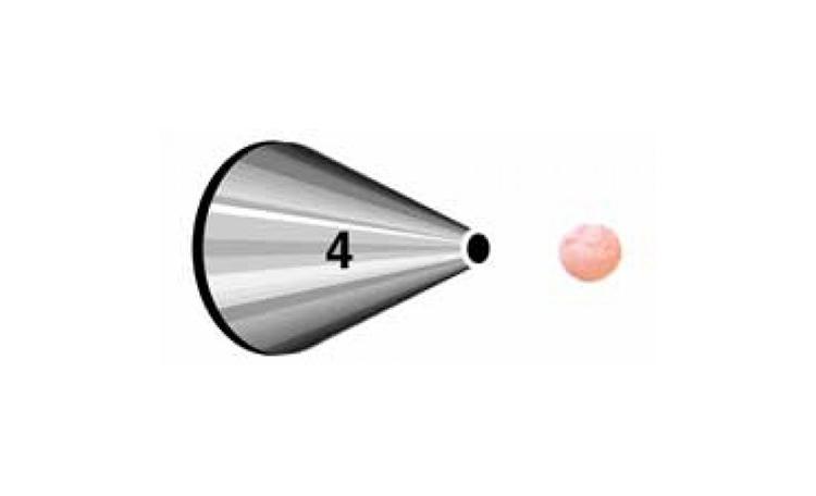 Wilton Round Tip #4