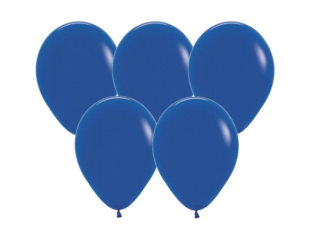 Royal Blue Balloons 25pk