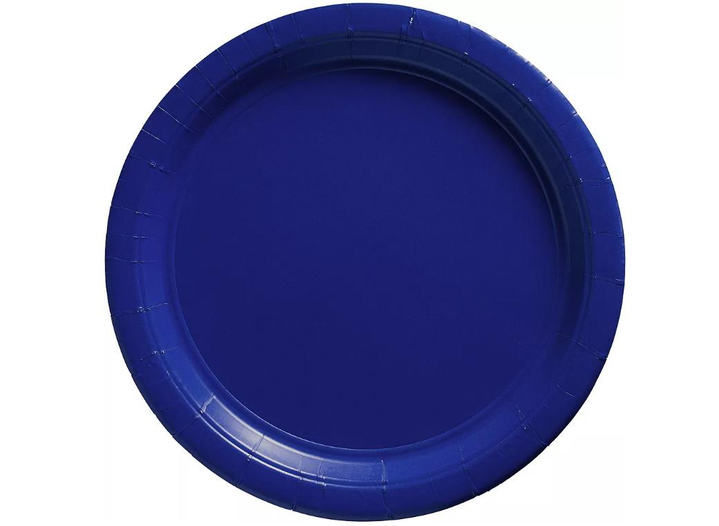 Royal Blue Dinner Plates 20pk