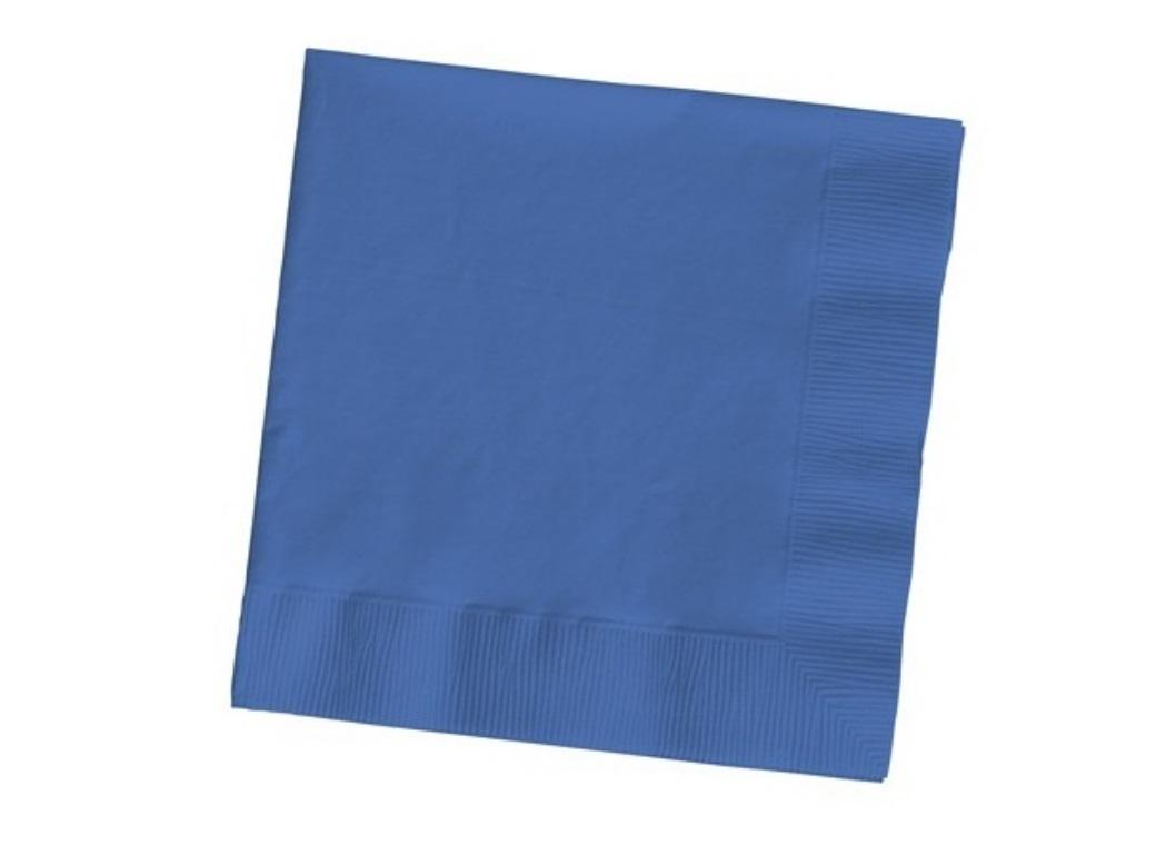 Royal Blue Lunch Napkins - 20 Pack