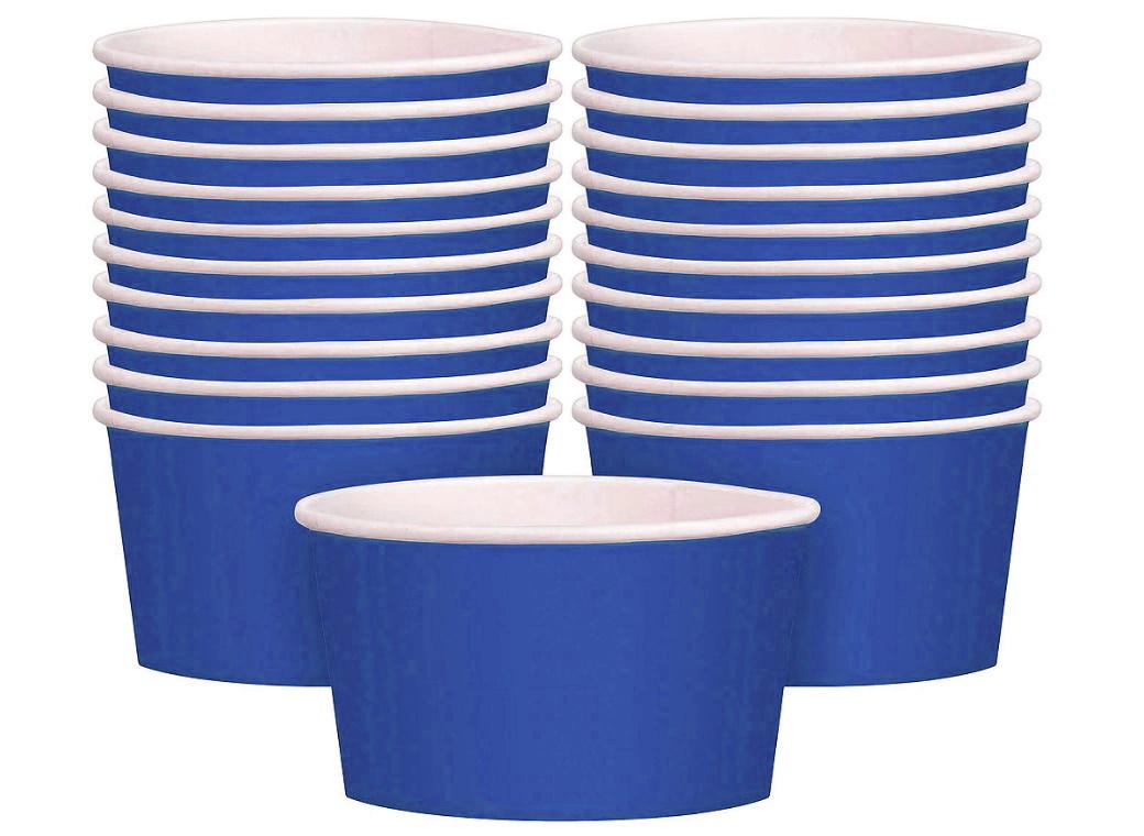 Treat Cups 20pk - Bright Royal Blue