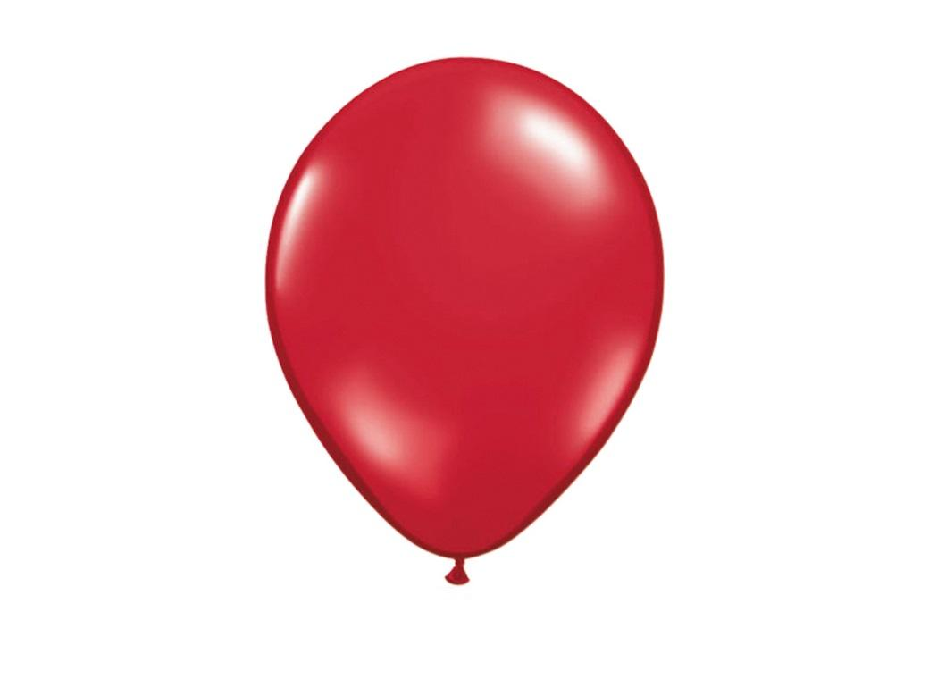Ruby Red Balloons - 5pk
