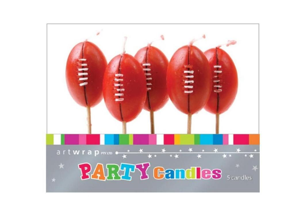 Party Candles - Rugby