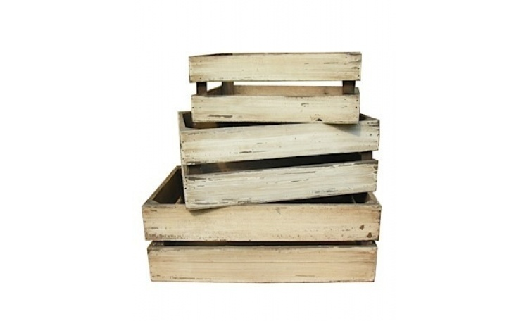 Rustic Crates - 3 Sizes to choose from