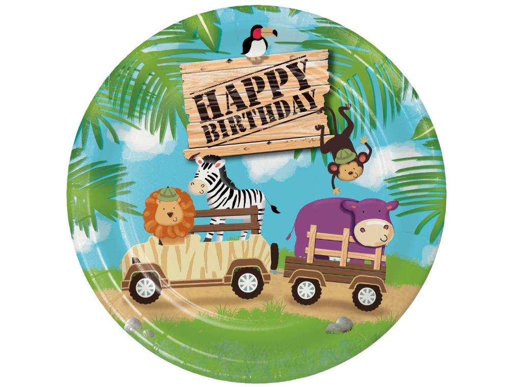 Safari Adventure Dinner Plate