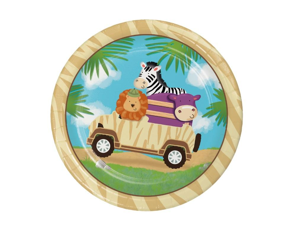 Safari Adventure Lunch Plate