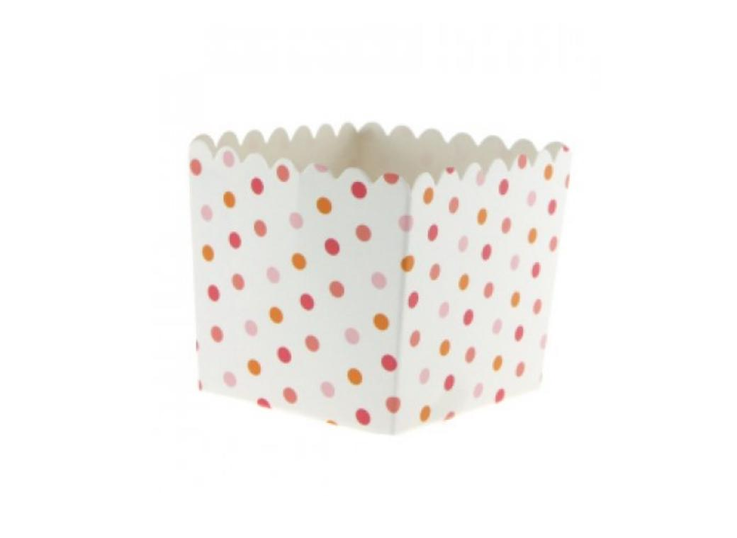 Sambellina Summer Peach Polkadot Favour Box