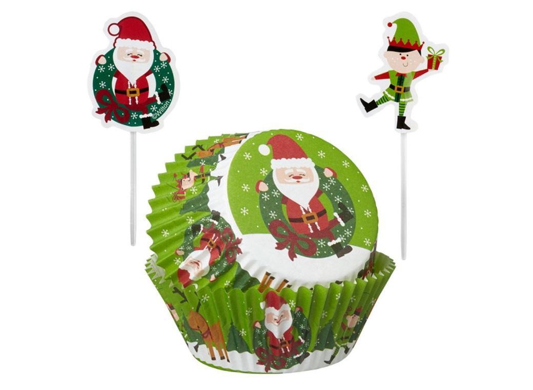 Santa & Elf Cupcake Combo - 24pk