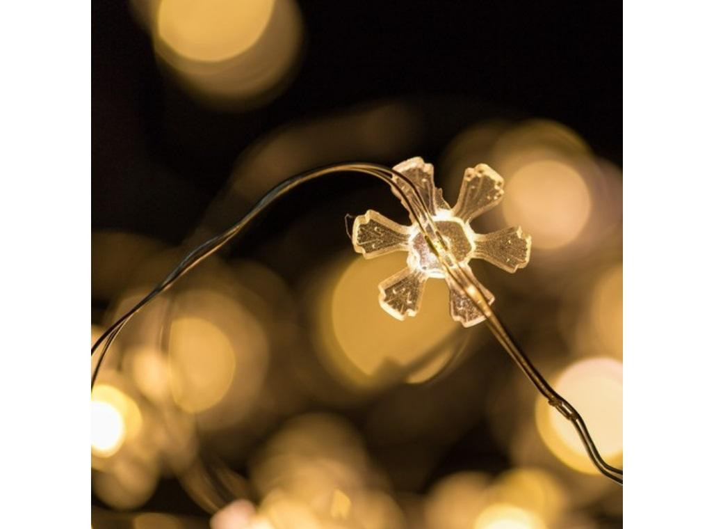 Seed Lights - Flowers String 2m