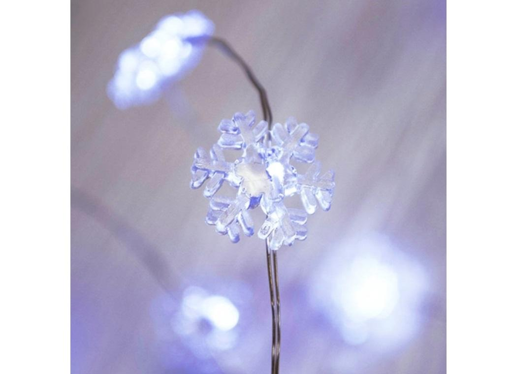 Seed Lights - Snowflake String 4m