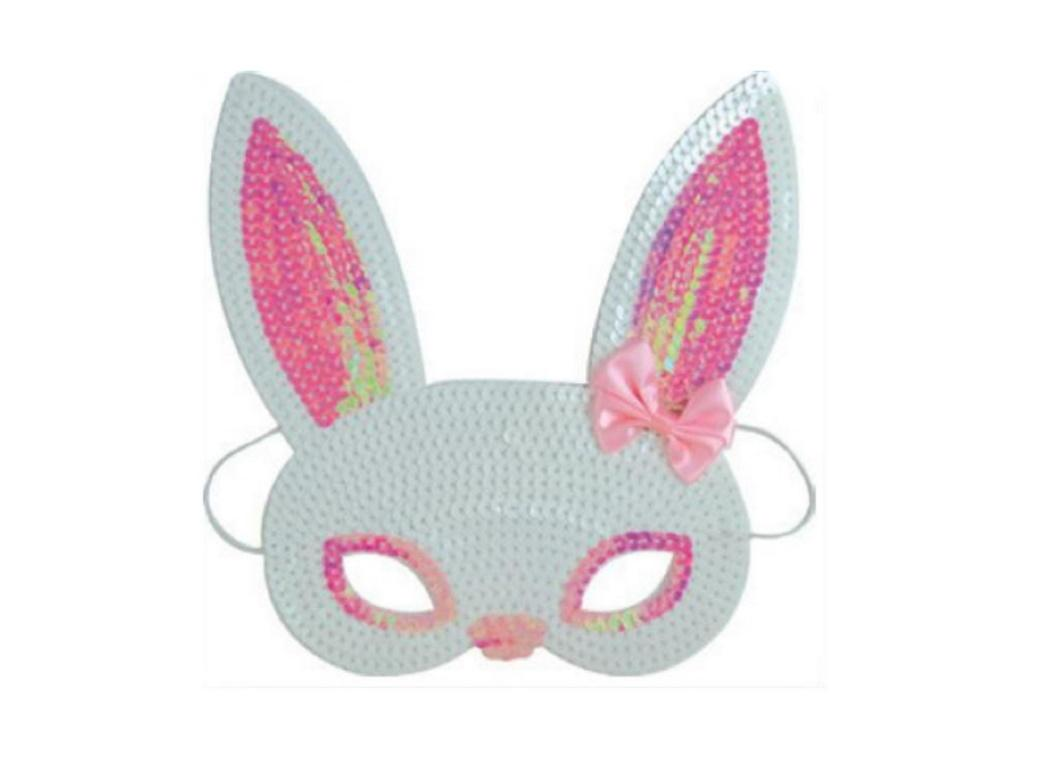 Sequin Bunny Mask