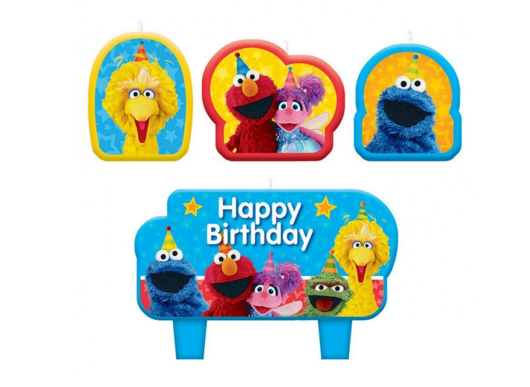 Sesame Street Candle Set
