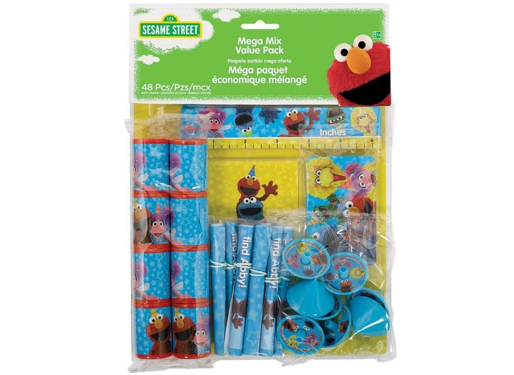Sesame Street - 48 Piece Party Favour Pack
